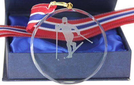 Glassmedalje klassisk