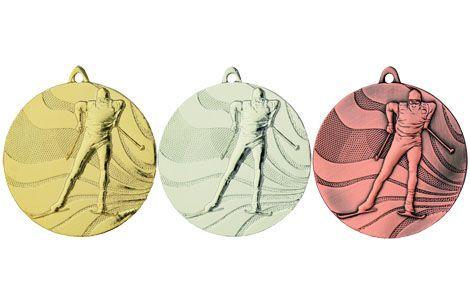Langrenn medalje 1205, 50 mm