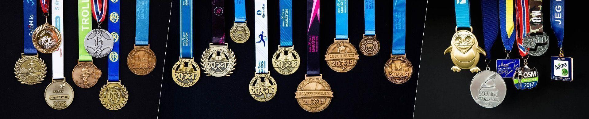 Spesialdesign av medaljer
